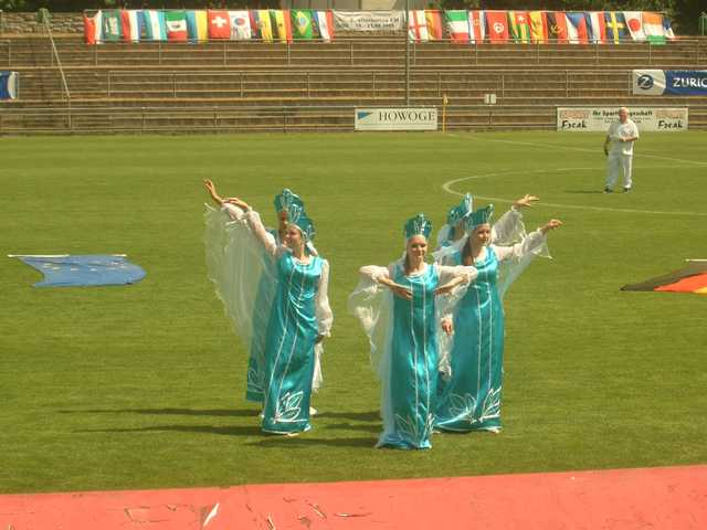 russische Tanzeinlage